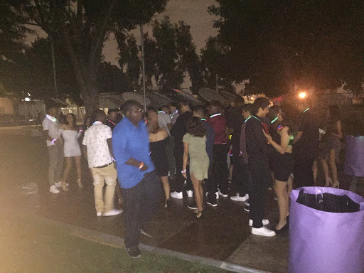 Manual students dance the night away at homecoming 2018.