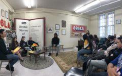 Journalism Class Launches 826LA Project