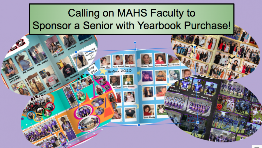 Sponsor a Senior with Yearbook Purchase